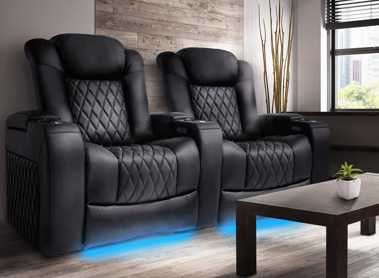 Valenica Tuscany XL Home Theater Seating Lifestyle