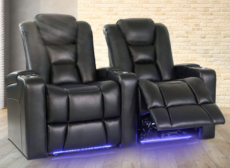 Valencia Venice Home Theater Seating Lifestyle