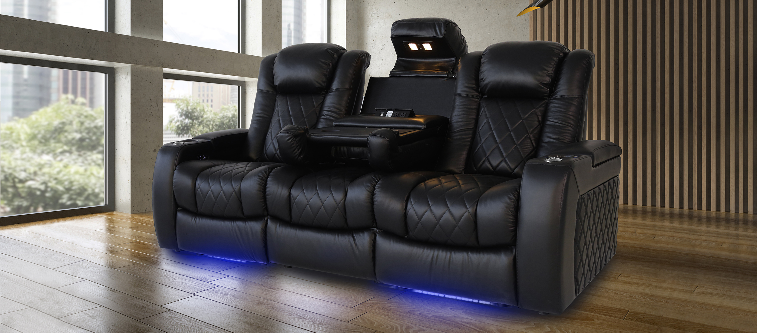 Tuscany Console Home Theater Seating