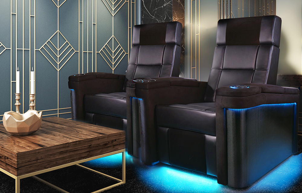 Monza Home Theater Seating